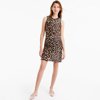 A-line shift dress in leopard print $98 thestylecure.com