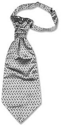 Forzieri Silver Mono Tail Plastron