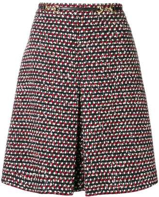 Gucci high-waisted A-line skirt