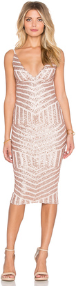 Nookie Starstruck Sequin Slip Dress $249 thestylecure.com