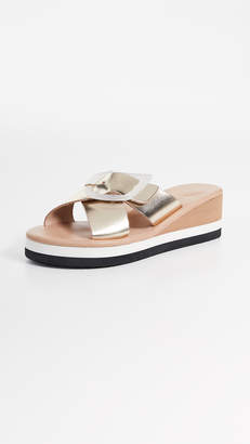 Ancient Greek Sandals Thais Rainbow Slide Sandals