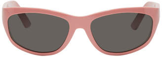Acne Studios Pink Bla Konst Lou Sunglasses