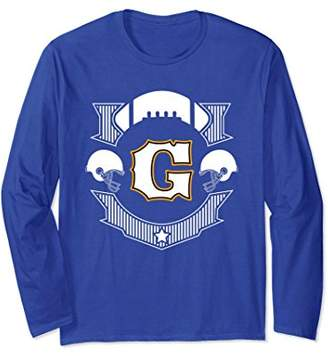 Letter G Football Lovers Design 1 Long Sleeve Tees