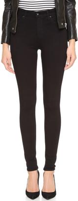 AG Superior Stretch Farrah High Rise Jeans $178 thestylecure.com