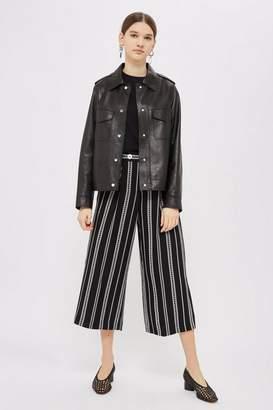 Topshop Broken Stripe Culottes