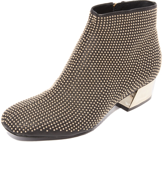 alice + olivia Paxton Studded Booties $395 thestylecure.com