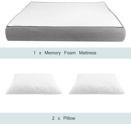 Silencelight Relax Super Soft Memory Foam Mattress Ergonomic Design Comfortable Breathable Indoor Sleeping Mattress Pad