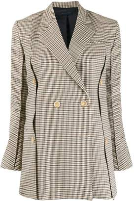 Eudon Choi checked double breasted blazer