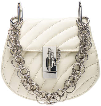 Chloé Mini Drew Bijou Quilted Smooth Calfskin Shoulder Bag