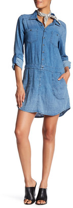 BLANKNYC Denim Swagway Denim Shirtdress $98 thestylecure.com