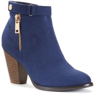 Apt. 9® Women's Zipper Ankle Boots $74.99 thestylecure.com