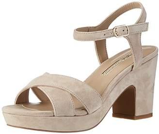 Buffalo London 316-3373 Kid Suede, Women's Ankle Strap Sandals,(37 EU)