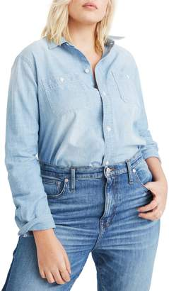 Madewell Ex-Boyfriend Classic Chambray Shirt