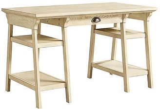 Stone & Leigh Driftwood Park Desk - Whitewash