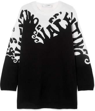 Valentino Intarsia Cashmere Sweater - Black