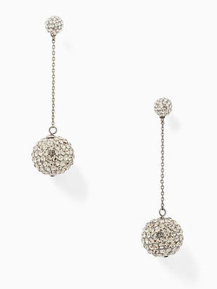 Kate Spade Razzle dazzle linear earrings