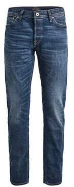 Jack and Jones Washed Denim Jeans