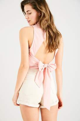 Jack Wills Laumann Halter Tie Back Shirt