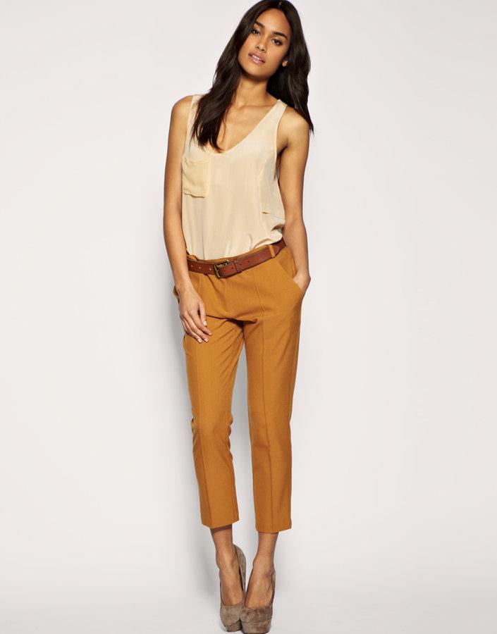ASOS 7/8 Tailored Slim Leg Pants