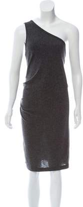 Alexander Wang Over-the-Shoulder Mini Dress
