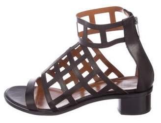 Aquatalia Leather Gladiator Sandals