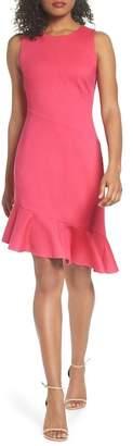 Chelsea28 Asymmetric Sheath Dress