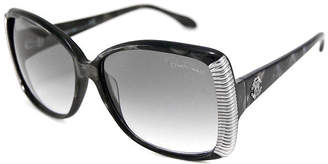 Roberto Cavalli Sunglasses - Rc 656S Alloro / Frame: Black With Gray Spots Lens: Gray Gradient