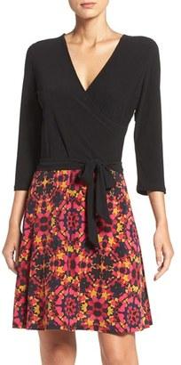 Women's Leota Faux Wrap Matte Jersey Dress $148 thestylecure.com