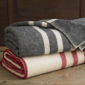Coyuchi Striped Wool Blanket