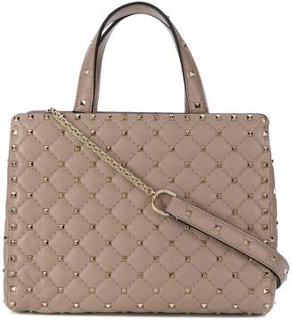 Valentino Rockstud quilted tote