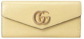 Gucci Broadway Python Evening Clutch Bag