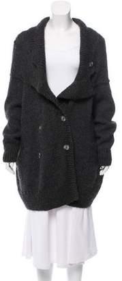 Zero Maria Cornejo Alpaca Button-Up Cardigan