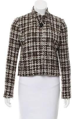Oscar de la Renta Wool-Blend Tweed Jacket w/ Tags