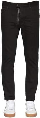 DSQUARED2 16.5cm Skater Cotton Denim Jeans