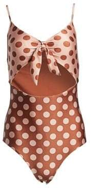 Zimmermann Primrose One-Piece Bikini