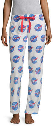 Asstd National Brand Minky Sleep Pant Womens Plush Pajama Pants