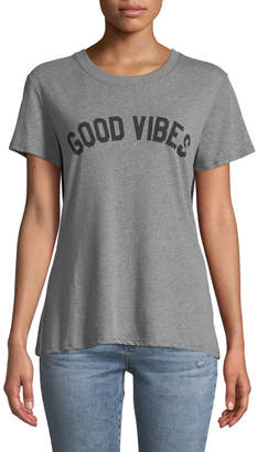 Sub Urban Riot Good Vibes Short-Sleeve Slogan Tee