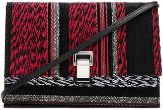 Proenza Schouler Small Mixed Woven Lunch Bag