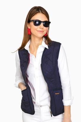 Barbour Barbour® Navy Betty Fleece Liner $66 thestylecure.com