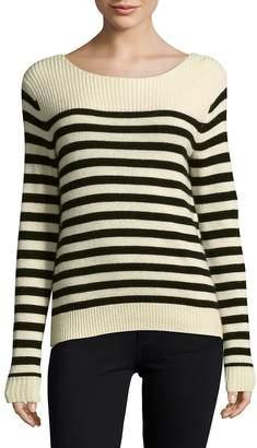 SET Women's Striped Wool-Blend Pullover