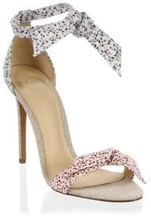 Alexandre Birman Lovely Floral-Print Sandals