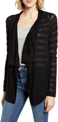Gibson x The Motherchic Travelers Drape Open Cardigan