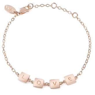 Neola - Rose Gold Love Bracelet