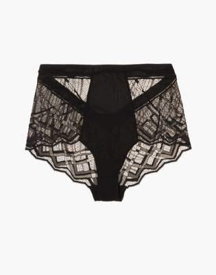 Madewell The Great Eros Sonata Seamless Lace High-Waist Bikini Brief