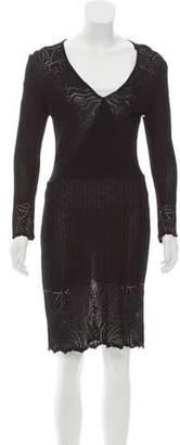 Yigal Azrouel Knee-Length Knit Dress