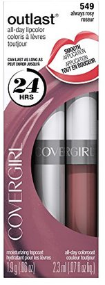 COVERGIRL Outlast All-Day Moisturizing Lip Color, Always Rosy .13 oz (4.2 g) $8.99 thestylecure.com