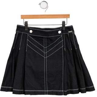 Junior Gaultier Girls' Denim Wrap Skirt w/ Tags