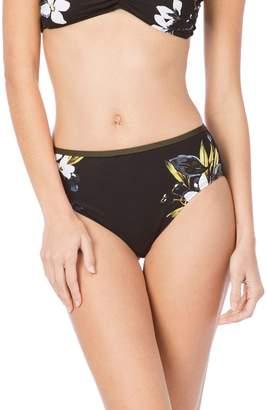 LaBlanca La Blanca Martini High Waist Bikini Bottoms