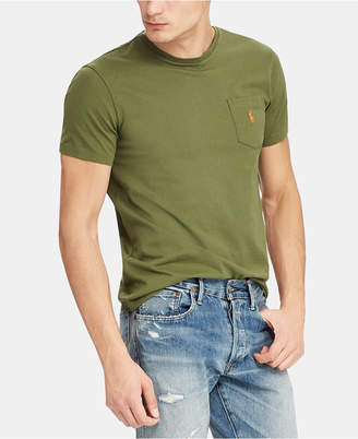 Polo Ralph Lauren Men Classic Fit Pocket Cotton T-Shirt