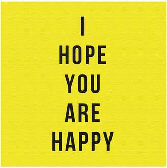 ArtDeli I HOPE YOU ARE HAPPY アートパネル m